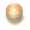 Wooden Bead Round 5mm Natural